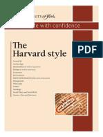Harvard style of citation