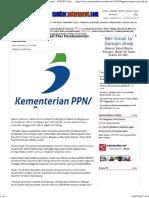 Bappenas_ Pariwisata Jadi Pilar Perekonomian Nasional - ANTARA Sumatera Barat