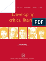 BROWN, K. (1999) Book Developing Critical Literacy. Sydney, NSW, Australia, National Centre for English Language Teaching and Research, Macquarie University
