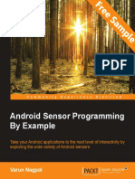 Android Sensor Programming By Example - Sample Chapter