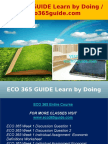 ECO 365 GUIDE Learn by Doing - Eco365guide.com