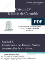 Unidad 4 Constitución del Estado- Nación - Ciencias Exactas UdeA