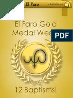 "24 April El Clarín ""Gold Medal Week"""