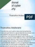 Thanatos Malware Iics