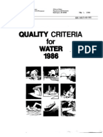 Gold Book of Water Quality