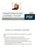 transformtional learning