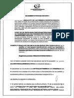 Salvamento de Voto de La Res No. 0592 de 2015