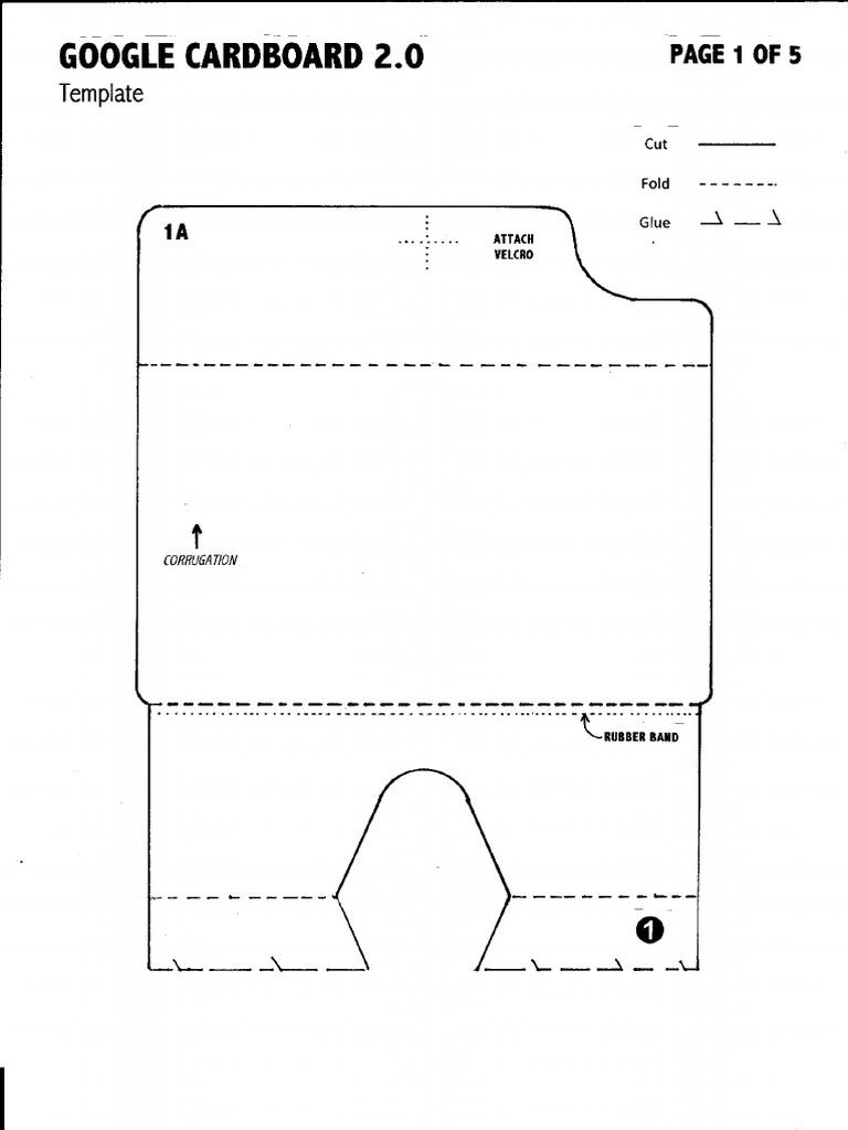 google cardboard v 2 0 template