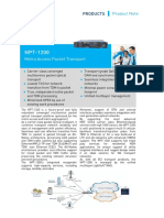 Hybrid NPT-1200 Product Note