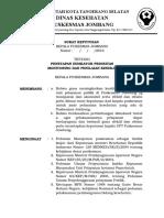 2. Sk Kapus Tentang Indikator Prioritas Monitoring Dan Penilaian Kinerja Puskesmas