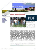 Rainfed Farming __ Farmer's Notebook