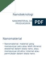 Nanoteknologi