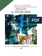 Evelyn Waugh - Declin Si Prabusire (v1.0)