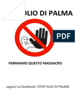 Stop Olio Di Palma