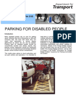 Parking for Disabled People 22