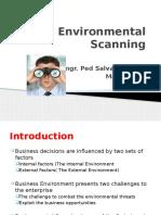 Env Scanning Lecture