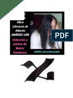 Estudios Sobre La Obra Literaria de Jiménez Ure (Actualizados, Mayo 2016)