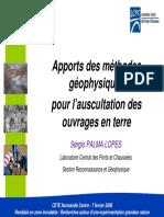 LCPC - Apport Des Méthodes Géophysiques Pour l'Auscultation Des Ouvrages en Terre - Rouen 2006