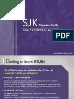 SEJIN Profile