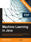 Machine Learning in Java - Sample Chapter