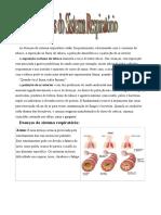 Doenças Do Sistema Respiratorio e Cardiovascular