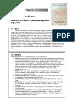 Guía de lectura de la Antología de la Poesía Ecijana Contemporánea