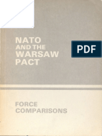 Nato and warsaw Pact force comparison