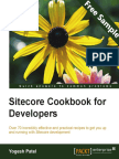 Sitecore Cookbook for Developers - Sample Chapter