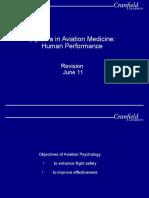 Human Performance Revision Slides 2011