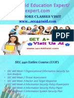 SEC 440 Aid Education Expert/sec440aidexpert.com