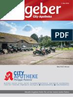 Ratgeber aus Ihrer City-Apotheke – Mai 2016