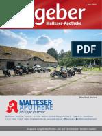 Ratgeber aus Ihrer Malteser-Apotheke – Mai 2016