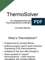 Termo Solver