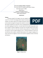 Mangrove Area Sampling in Bolinao