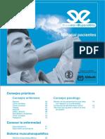 Ejercicios para pacientes con espondilitis anquilosante