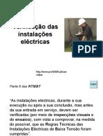 Verificacao Das Instalacoes Electricas
