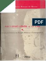 Carlos Alberto Ribeiro de Moura - Racionalidade e Crise Uma Página