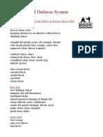 Grassiva Self Defense System Requirements New 2014