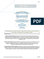 Monografia - Implantando a 14000 Com Enfase Em Tecnologias Limpas