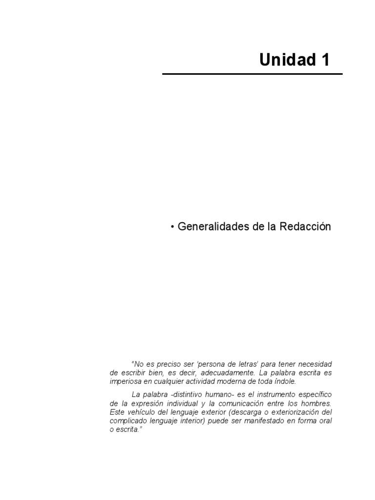 Manual de Redacción Completo