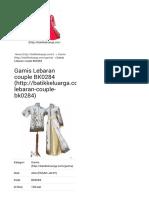 GAMIS LEBARAN COUPLE BK0284 | BATIK KELUARGA | Batik Modern Murah | Baju Batik Pria | Seragam Batik.pdf