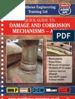 Damage and Corrosion Mechanisms-API 571