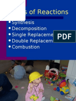 Type of Reactions (bpf)