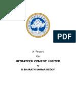 Ultatech Report Bharath-1