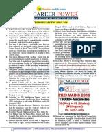 The Hindu Review April 2016