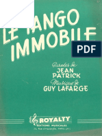 GUY LAFARGE - LE TANGO IMMOBILE - 1955 - TANGO - BAND SHEET MUSIC.pdf