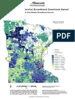 Maximum Download Speeds Across Minnesota