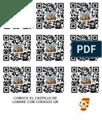 CASTILLO DE LOARRE Y CODIGOS QR