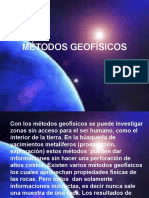 Métodos Geofísicos. Unidad v-1