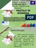 Pastele in Romania